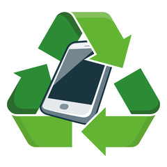 Recycle mobile phone