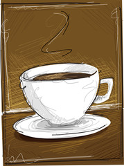 Brown Coffee Background