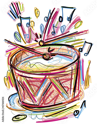 Fototapeta The Drum