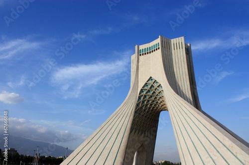 Papiers peints Artistique Tour Azadi, Téhéran, Iran