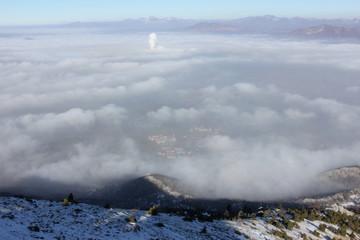 sis bulutları