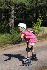 girl rollerblade