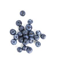 Sweet blueberry isolated on white background