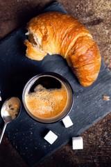Pause mit Kaffee