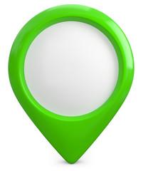 grüner Pointer Marker