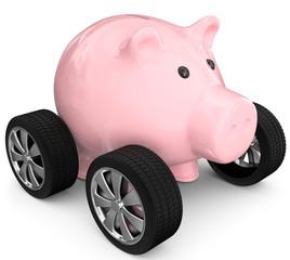 Sparen für Auto