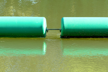 Two green bouys