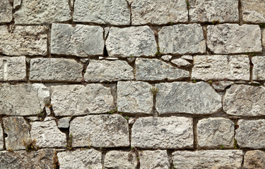 Old stone wall quater