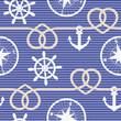 Nautical seamless pattern - 67676610