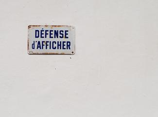 Afficher la défense !
