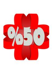%50 indirim