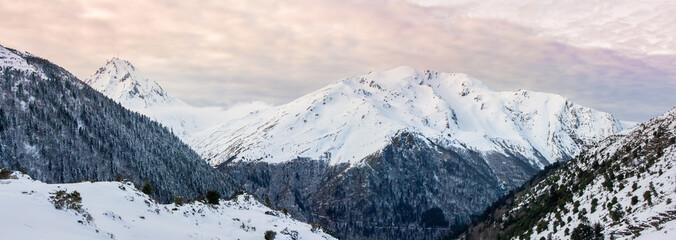Pyrénées - Pic du midi - Couché de soleil