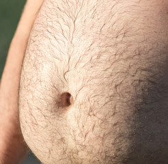 great man's stomach