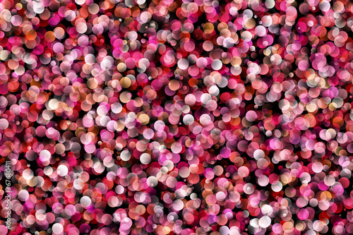 Leinwanddruck Bild fantastic powerful bubbles background design