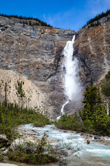 Canadian Landmark: Takakkaw Falls in Yoho, British Columbia