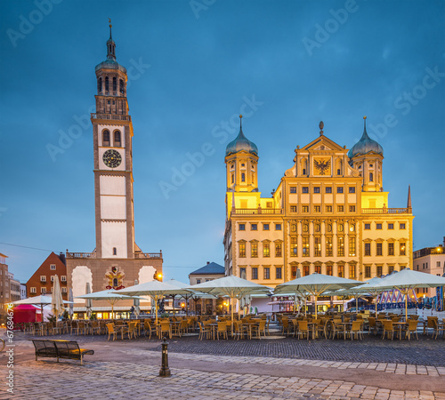 Augsburg, Germany Town Square - 67684676