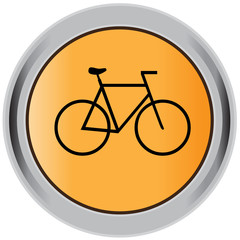 Bicycle button, sign