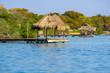 pier at rosario island colombia