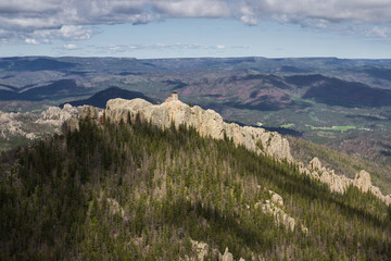 granite formations in the Black Hills