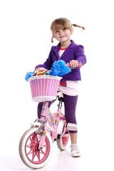 bambina bici