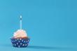 Obrazy na płótnie, fototapety, zdjęcia, fotoobrazy drukowane : birthday cupcake
