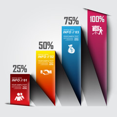 modern design for info graphic