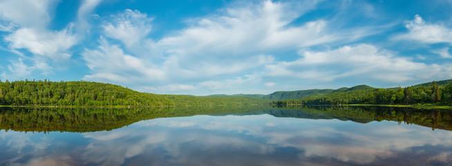 Panorama of Warren lake