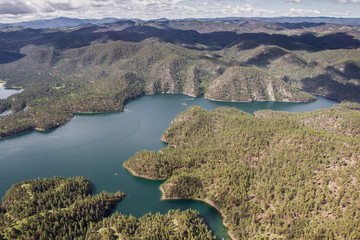 Sheridan Lake, aerial view