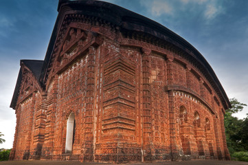 Jorbangla Temple, Bishnupur , India