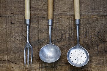 utensils to cooking