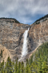 Takakkaw Falls in Canadian Rockies