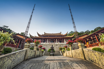 Temple in Fuzhou, China