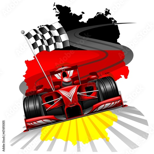 Poster Formula 1 GP Germany