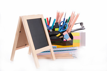 blackboard and accessories