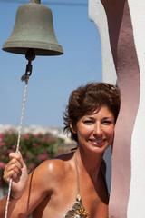 Donna con campana