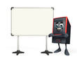 Computer Cabinet Character with display board