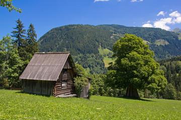 Heustadl in den Alpen - Schladming