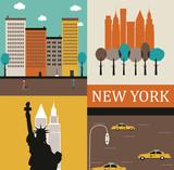 Fototapety New York.