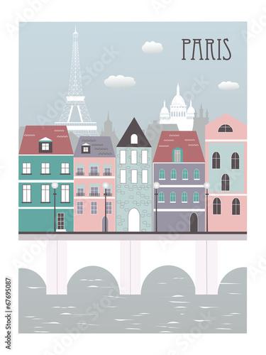 Fototapeta Paris city.