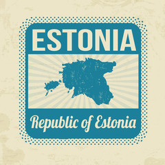 Estonia stamp