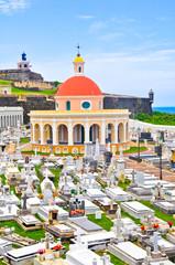 Santa Maria Magdalena cemetery, old San Juan (Puerto Rico)