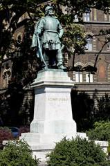 Statua di György Szondy, Budapest.