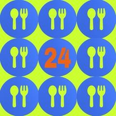 Еда 24 часа в сутки
