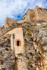Morella Castle in Spain