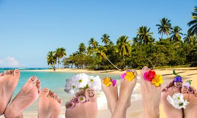 Fröhlich Füße: Auszeit in der Karibik :)