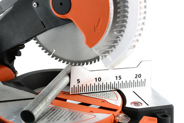 Mitre Saw and iron rods