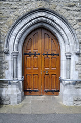 Saint Patrick's Roman Catholic Church right side door