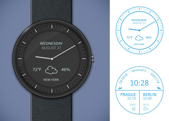 Smartwatch app template