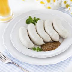Weisswurst - Munich white sausages