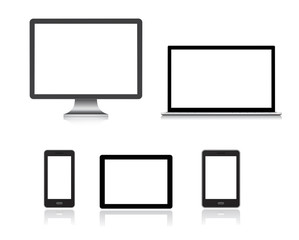 computer, smartphone, tablet pc, notebook - gadgets icon